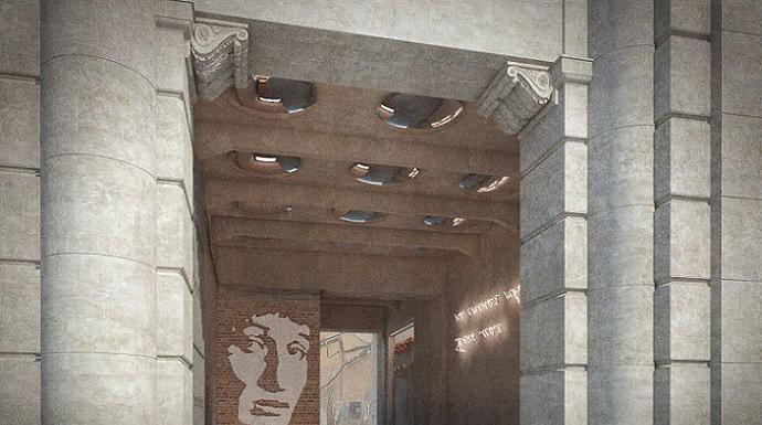 В Петербурге появится арка с портретом Анны Ахматовой