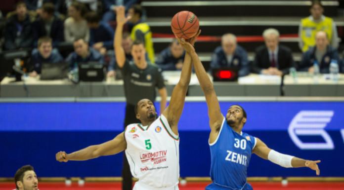 Баскетбольный «Зенит» проиграл в первом матче года