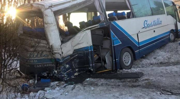 В аварии с автобусом на трассе «Скандинавия» пострадали более 20 человек