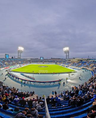 Главная футбольная арена СПб стадион «Петровский»