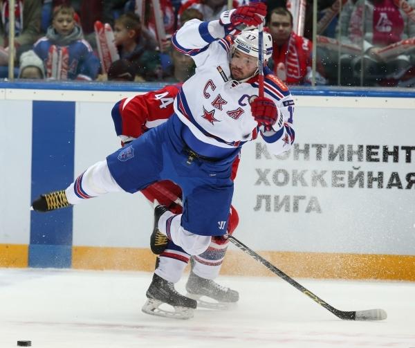 СКА наказал Ковальчука отстранением от игры за нарушение режима