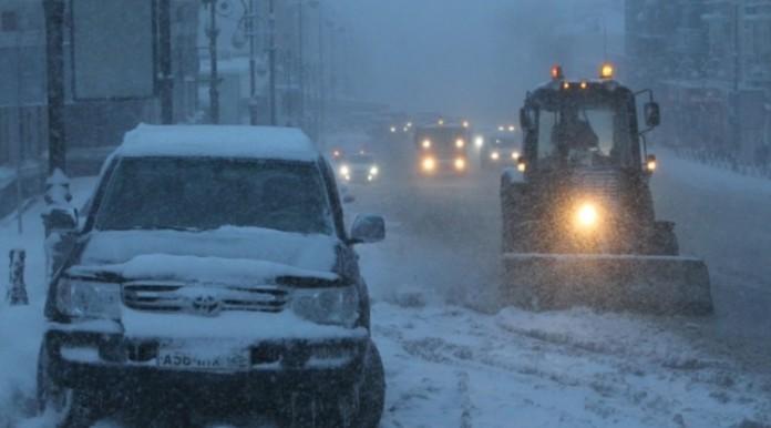 Циклон «Норкис» накроет Петербург снежным штормом