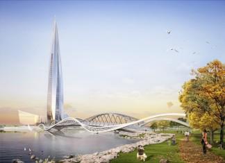 Обзорные площадки СПб. Лахта Центр - 370 метров