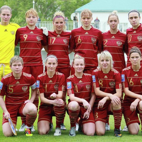 Женская сборная России по футболу сыграет в Петербурге 12 апреля