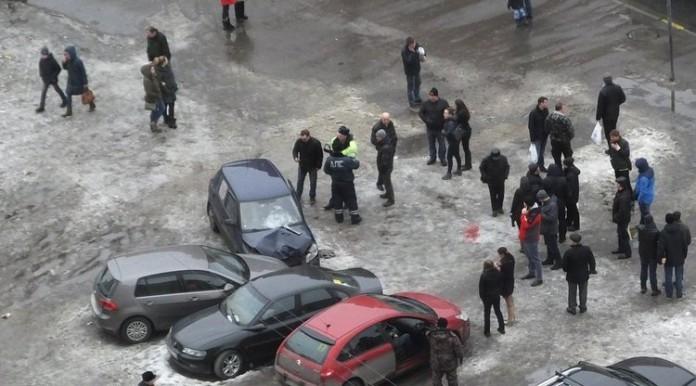 Сбитые на Ленинском проспекте пешеходы находятся в тяжёлом состоянии