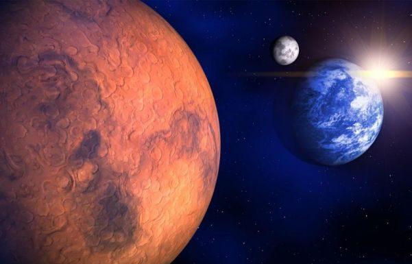 В ночь на 22 мая петербуржцы увидят противостояние Марса