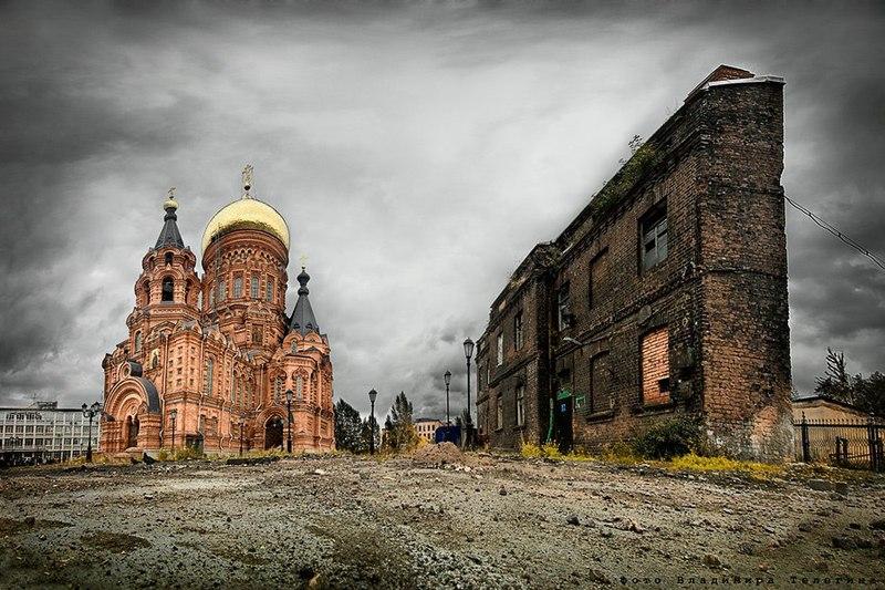 Достопримечательности Санкт-Петербурга. Гутуевский остров
