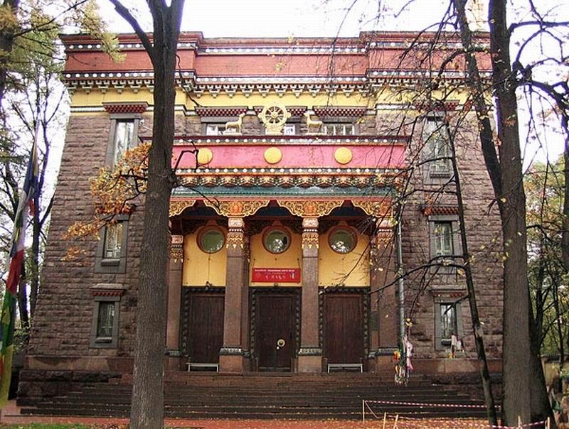 Экскурсия в буддийский храм «Дацан Гунзэчойнэй»   Новостной портал СПб