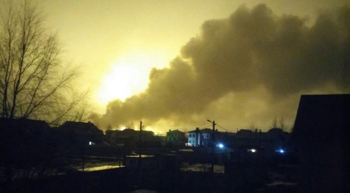 Ущерб от пожара в Колтушах оценили в один миллиард рублей