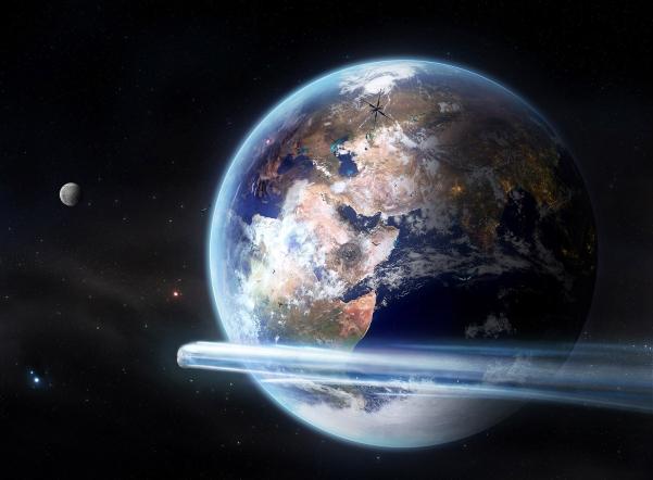 На этой неделе около Земли можно будет увидеть комету